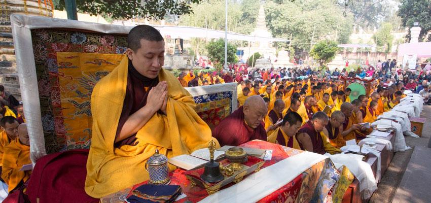 Tajė Dordžė, Jo Šventenybė XVII Gjalva Karmapa veda Kagju Mionlamą