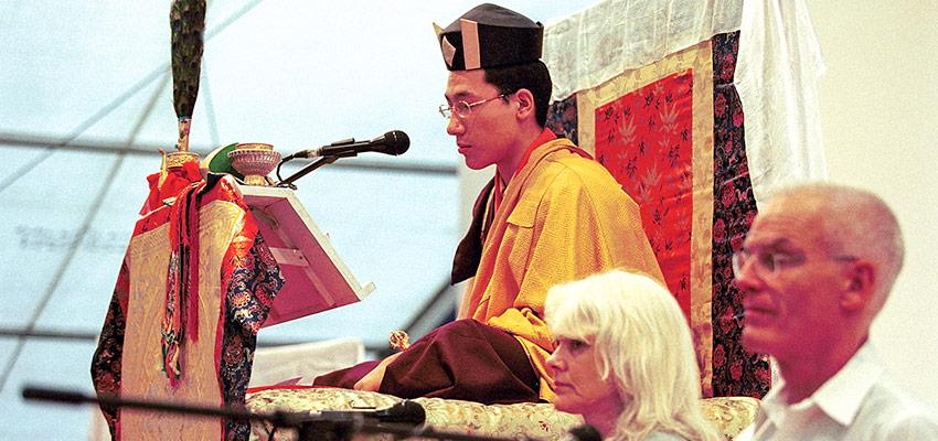 Jo Šventenybė XVII Karmapa, Hana Nydahl ir Lama Olė Nydahlas