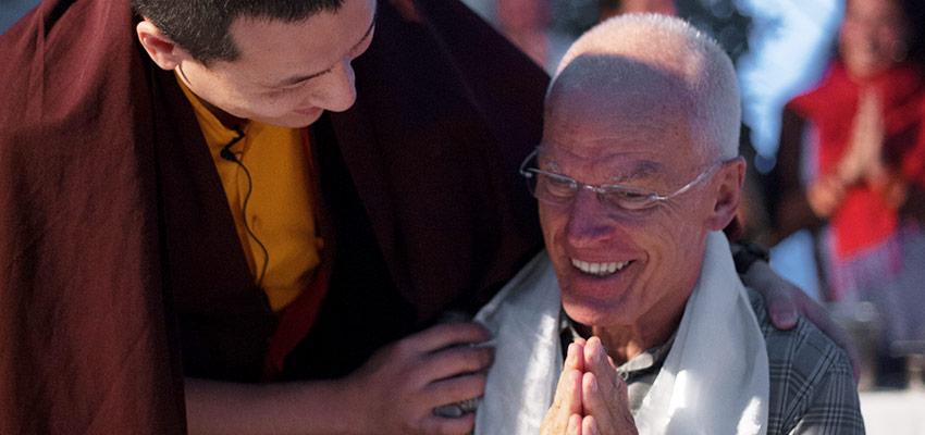 Tajė Dordžė, Jo Šventenybė XVII Karmapa, su Lama Ole Nydahlu