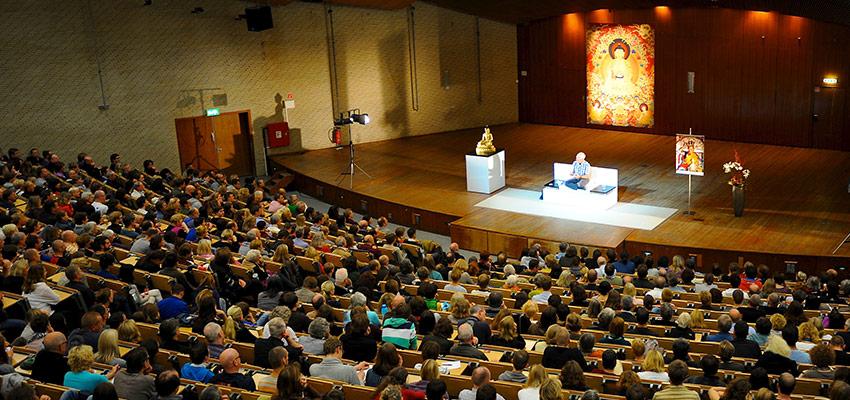 Lamos Olės Nydahlo mokymai Hamburge, Vokietijoje